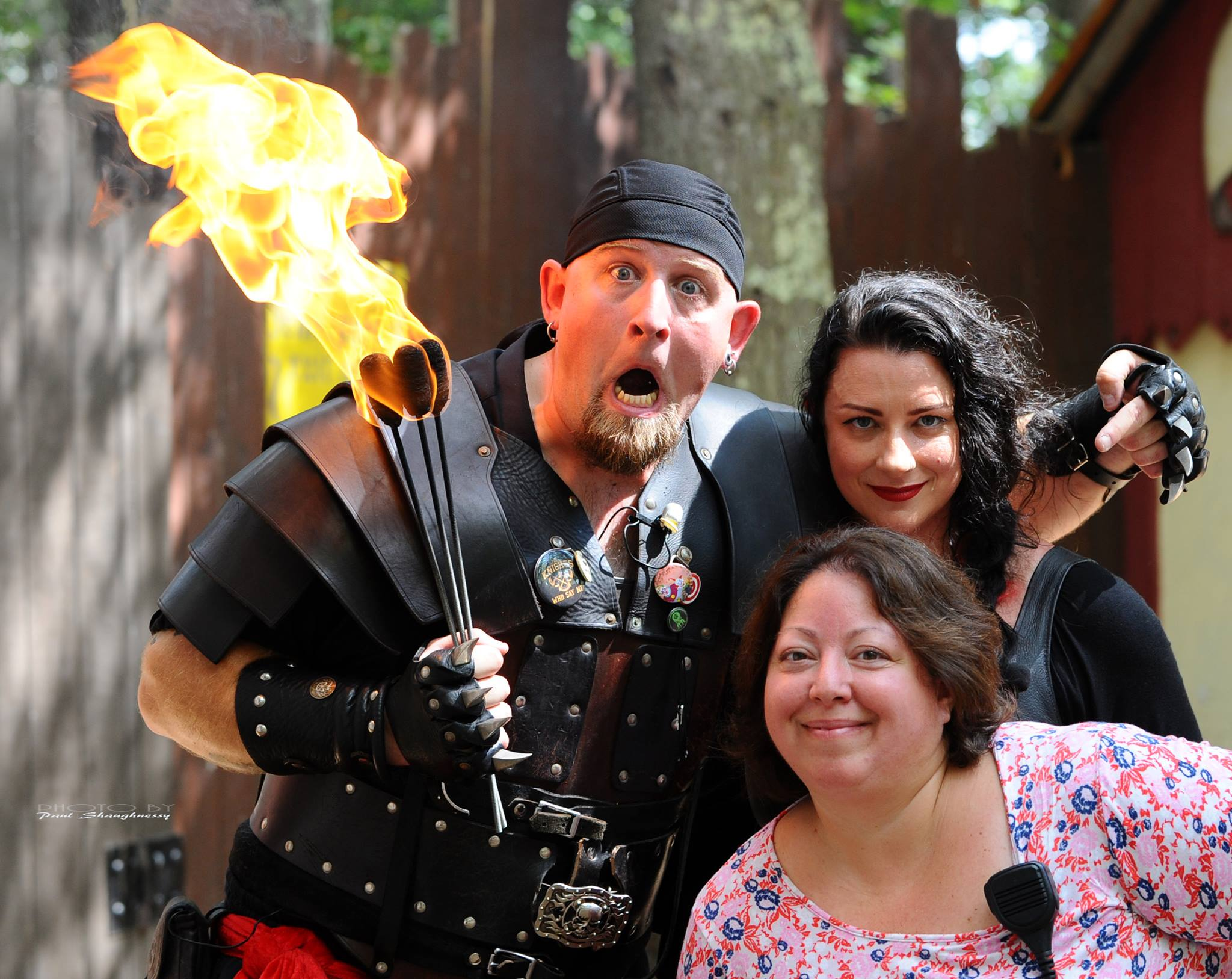"Julie Dennehy is president of Dennehy PR and represents King Richard's Faire, a Renaissance Faire that discourages the use of ""fairy boxes"" and encourages people to go and play in the woods and escape reality for a while. Photo credit: Paul Shaughnessy"