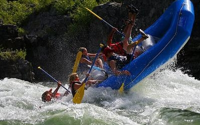 Rafting: Classes II through V available