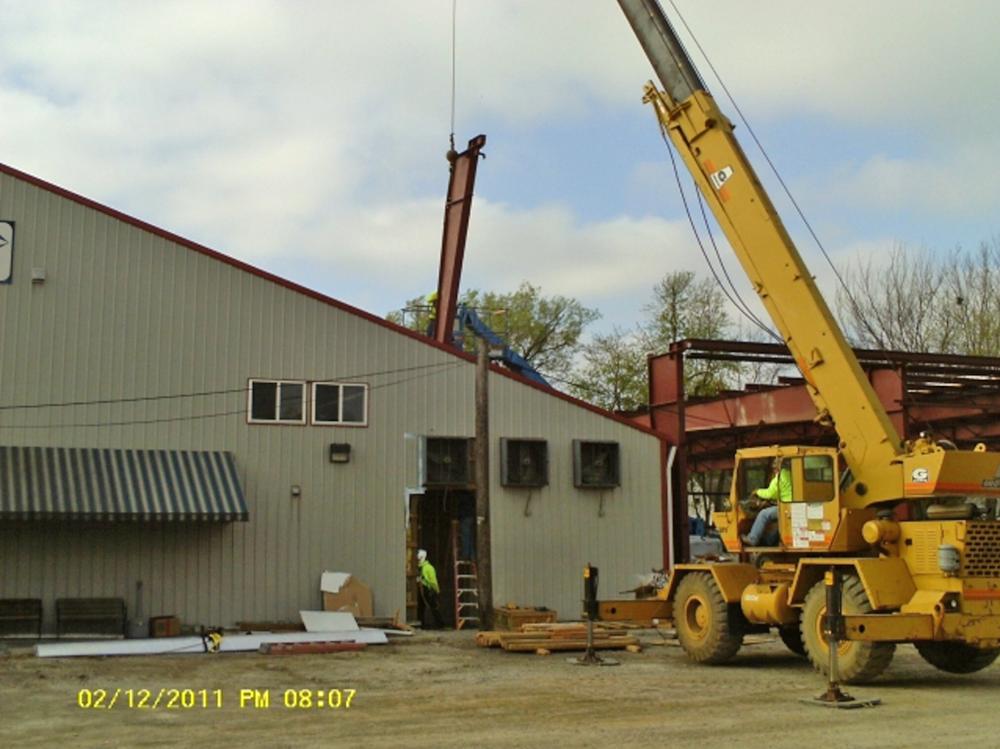 Hartzell St. Construction, 2011