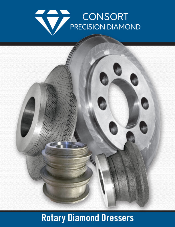 DIAMOND ROLLS   Rotary Diamond Dressers are recognized as the most efficient and economic means of dressing and truing grinding wheels to the correct form, tolerance and condition.
