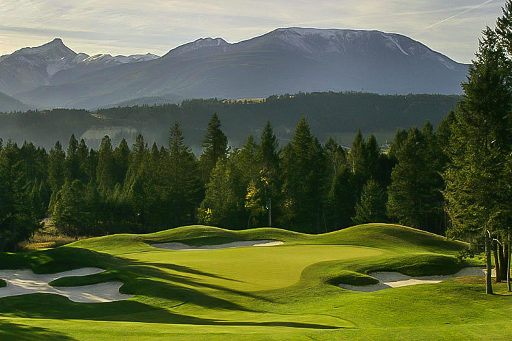 Eagle ranch golf course, invermere bc