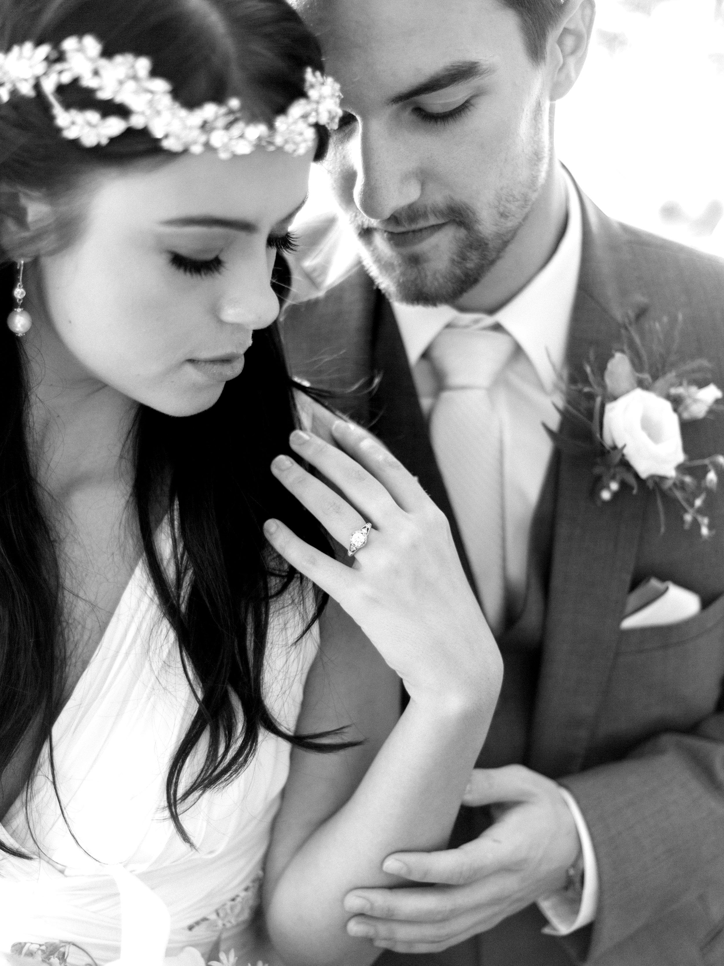 Glimmer and Blush Wedding