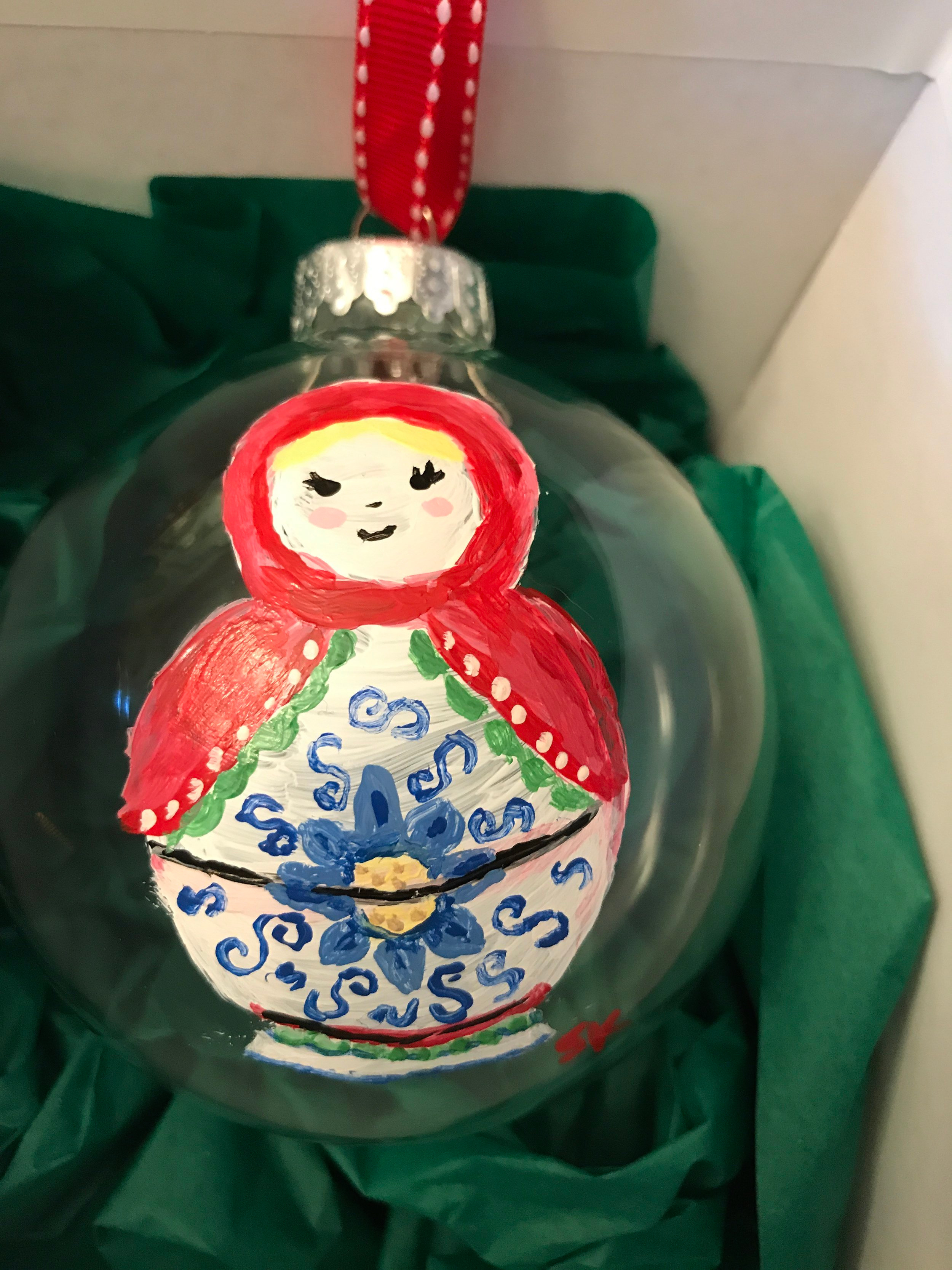 Large Glass Ornaments - Want something you don't see? Contact us and we will create you something beautiful and unique.