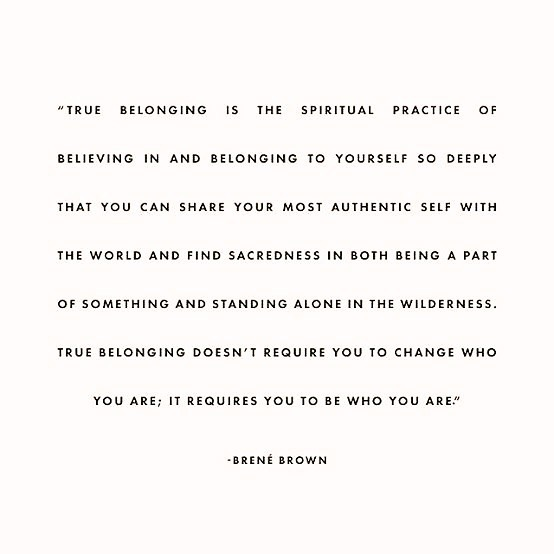 ❤️ YOU BELONG TO YOURSELF ❤️ . I love this quote by @brenebrown . You belong to yourself, no one else. You can share yourself, your body, your vulnerability, your emotions with people you choose to share it with but just because you share yourself, doesn't mean they own you. . Never abandon yourself and your truth for other people. Stand in your power and speak your truth. If people leave you when you do, let them go, they're not for you and it doesn't mean anything about you. Notice the stories you tell yourself and let those go too 🤗🙏🏼 . This year, I had the longest time I was single ever in my life. I really learnt to be with myself. I got to know myself so much better. I felt lonely, I felt free, I felt connected, I felt all sorts of feelings. I wanted to distract myself from feeling uncomfortable emotions by being with someone and I'm so glad I didn't. It was one of the best things I did, because feeling whole, knowing who I am, without being with someone is very freeing and empowering 🔥 . I honestly feel learning to be with yourself is one of the most important things to do to live your truth. You enjoy exploring yourself without having to look outside of yourself for approval and validation. Who are you when you're not in a relationship? What do you like? What don't you like? What do you fear people will find out about you? What parts of you do you avoid loving and accepting about yourself? Everyone has a few, you're not alone. Start from there. See, hold and honour all of you 🤗❤️ . I love you 💛 .