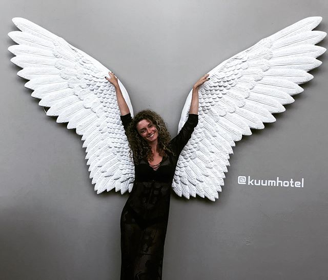 "I got wings! 😇✨ . 2 weeks to go for the next breathwork journey! 🔥 . ✨""A really powerful journey inside yourself where you can feel emotions you have buried really deep, express gratitude and love for who really are and acknowledge your true essence."" ✨ . 23 August Friday Centre 151, East London 6:30pm . We have spaces available 😍 Come join us! . All the info is in the link in bio ✨ . I love you 💛 ."