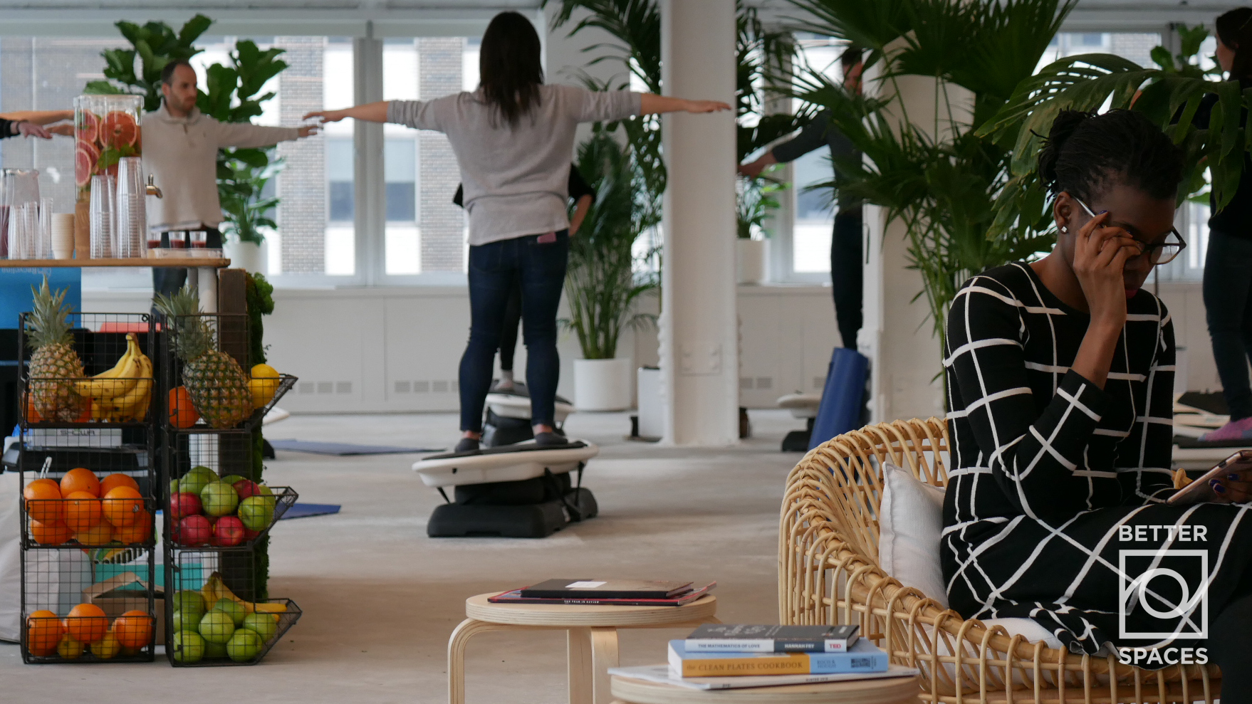 Tenants Enjoy Surfing Meditation in Vacant White Box Space   Photo Credit: Bryan Lavery, May 2018   Download for Web  |  Download for Print