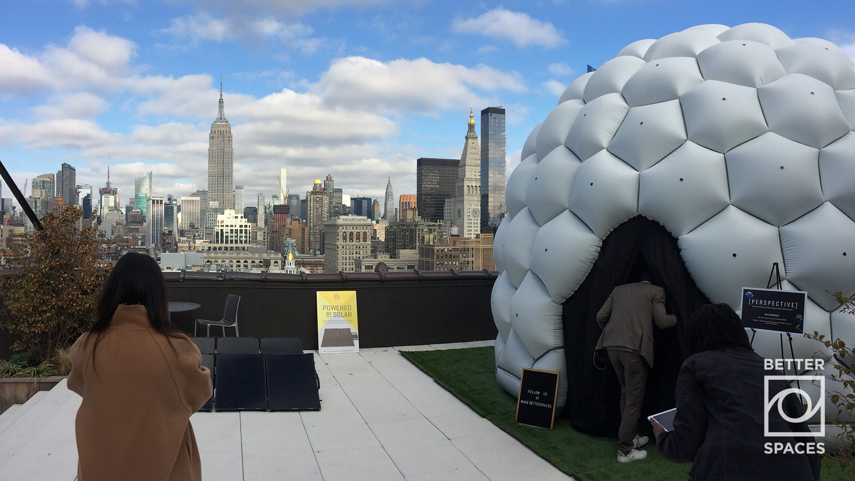 A Solar-Powered Rooftop Activation and Meditation Area   Photo Credit: Bryan Lavery  , November 2017   Download for Web  |  Download for Print