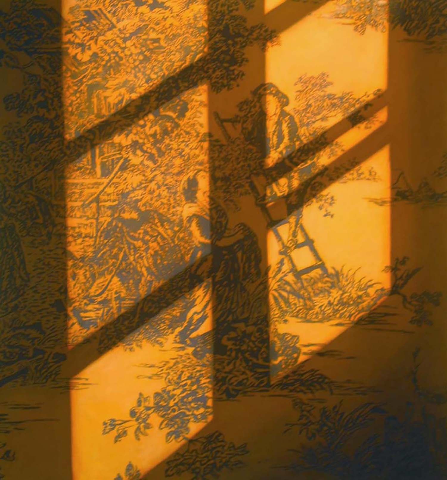 Sunlight on Toile   2004  Oil on canvas  72 x 66 inches