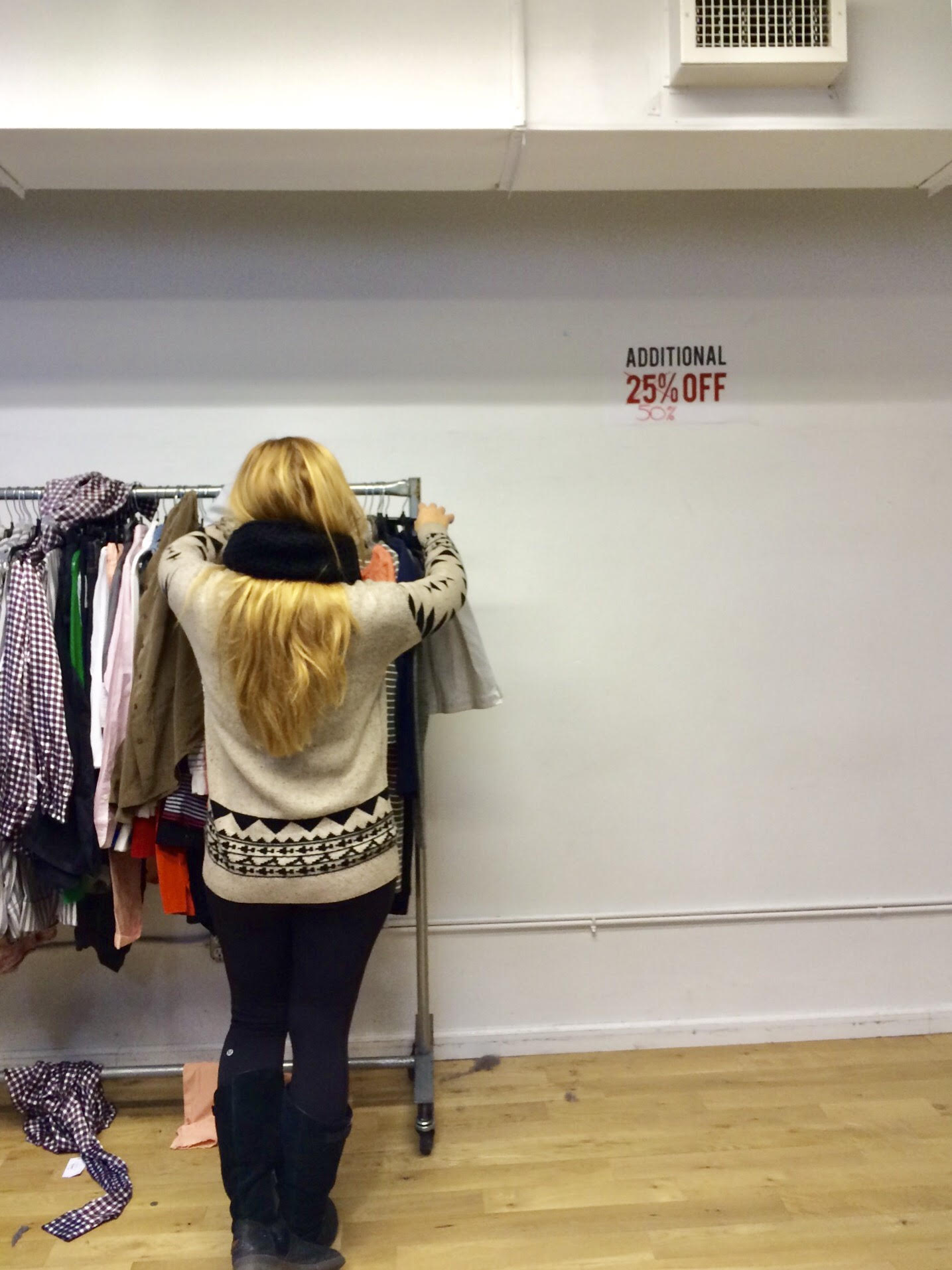 Hunting for deals on 5th Avenue in 2015