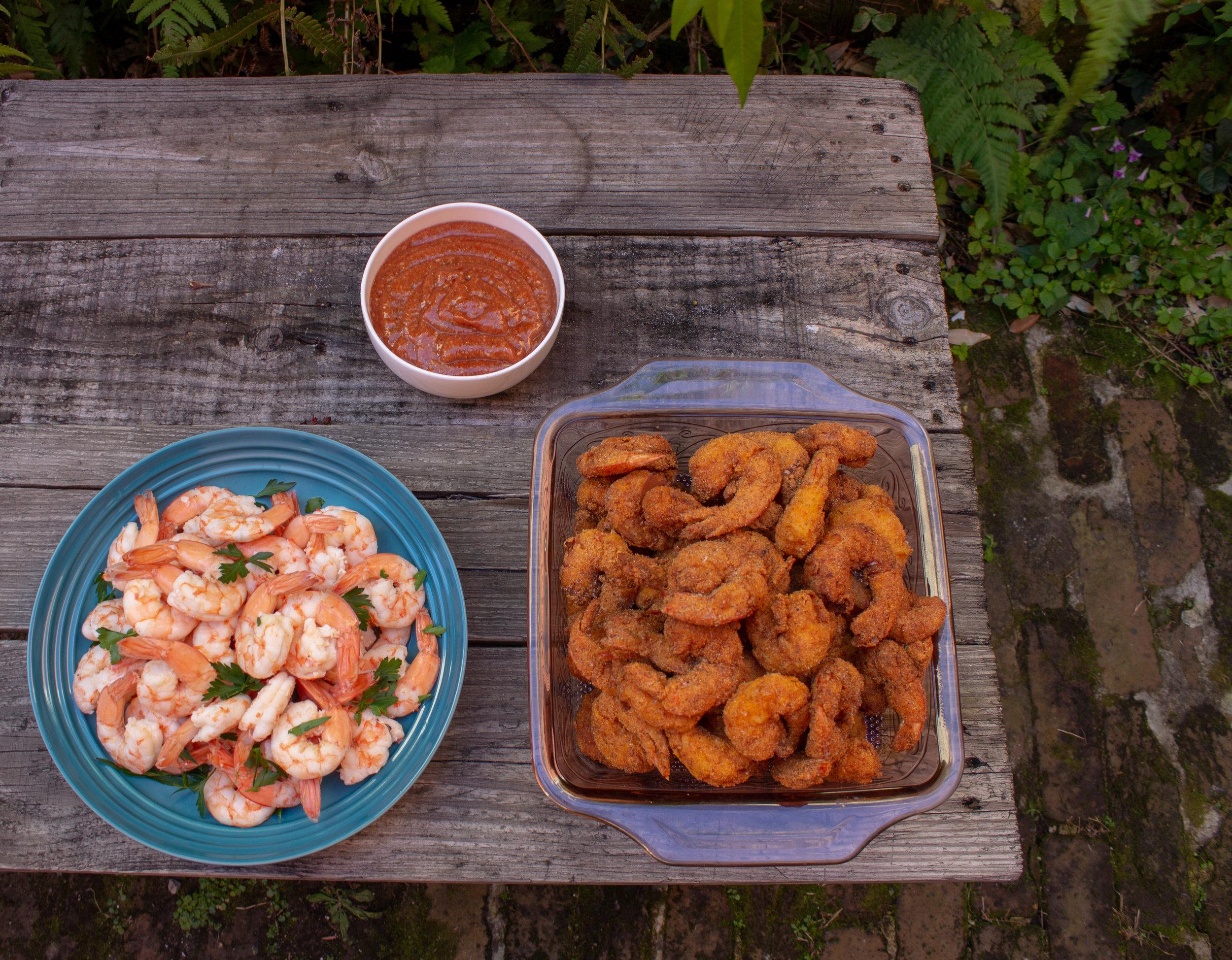 Fried or Boiled Gulf Shrimp