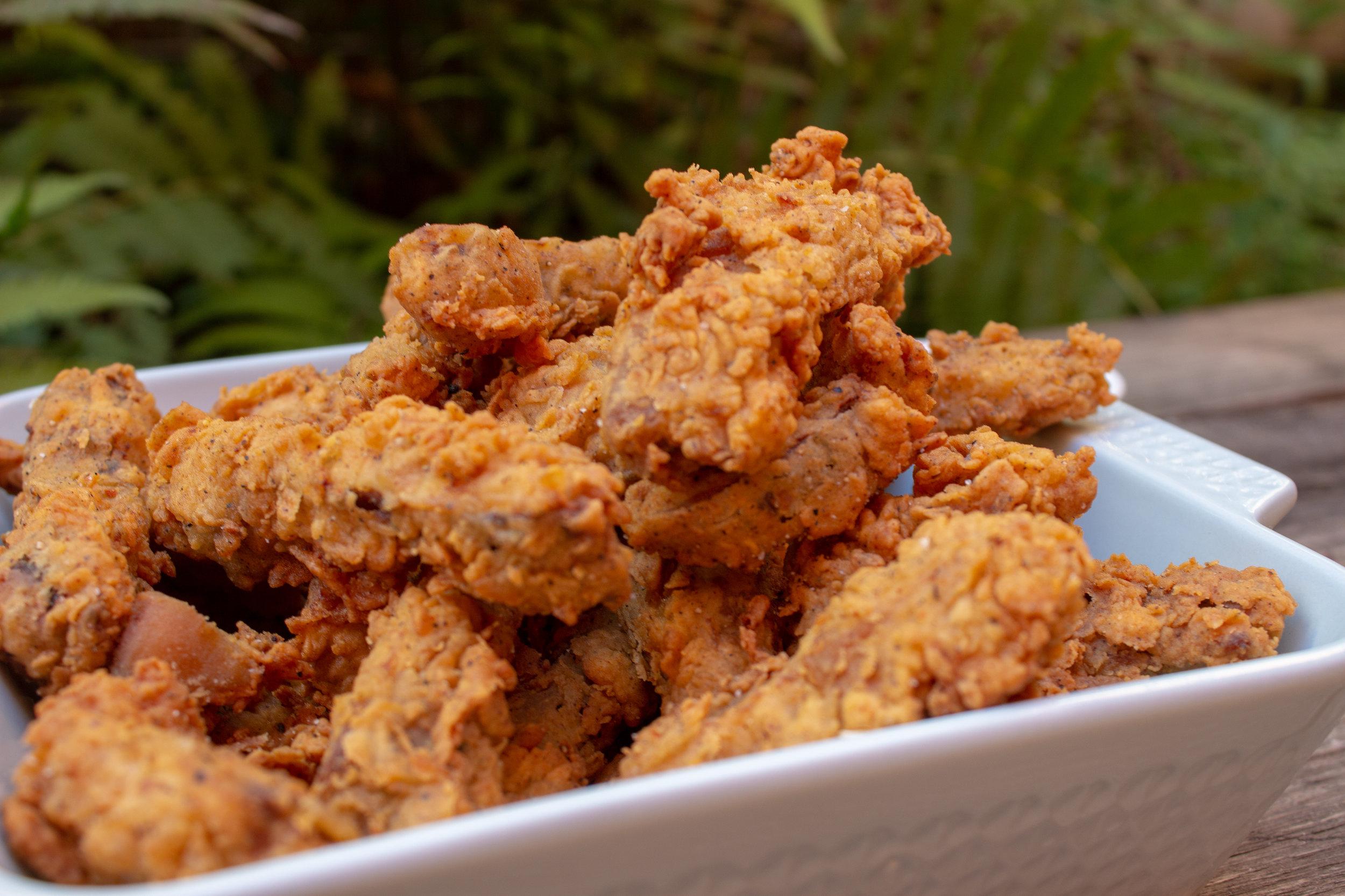 Smoked Fried Chicken Strips