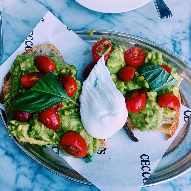 When Italians do avo toast 😍