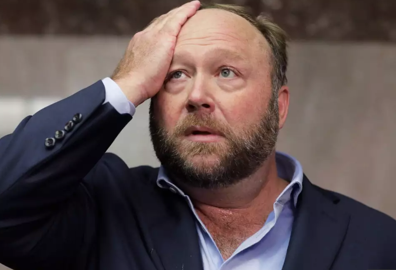 Controversial Radio Host Alex Jones