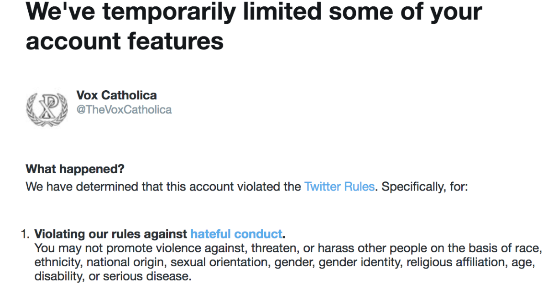 Hateful Conduct