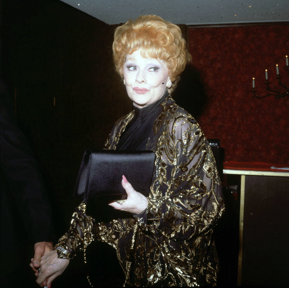 In 1975 at the Thallians Ball. Photo: Getty Images