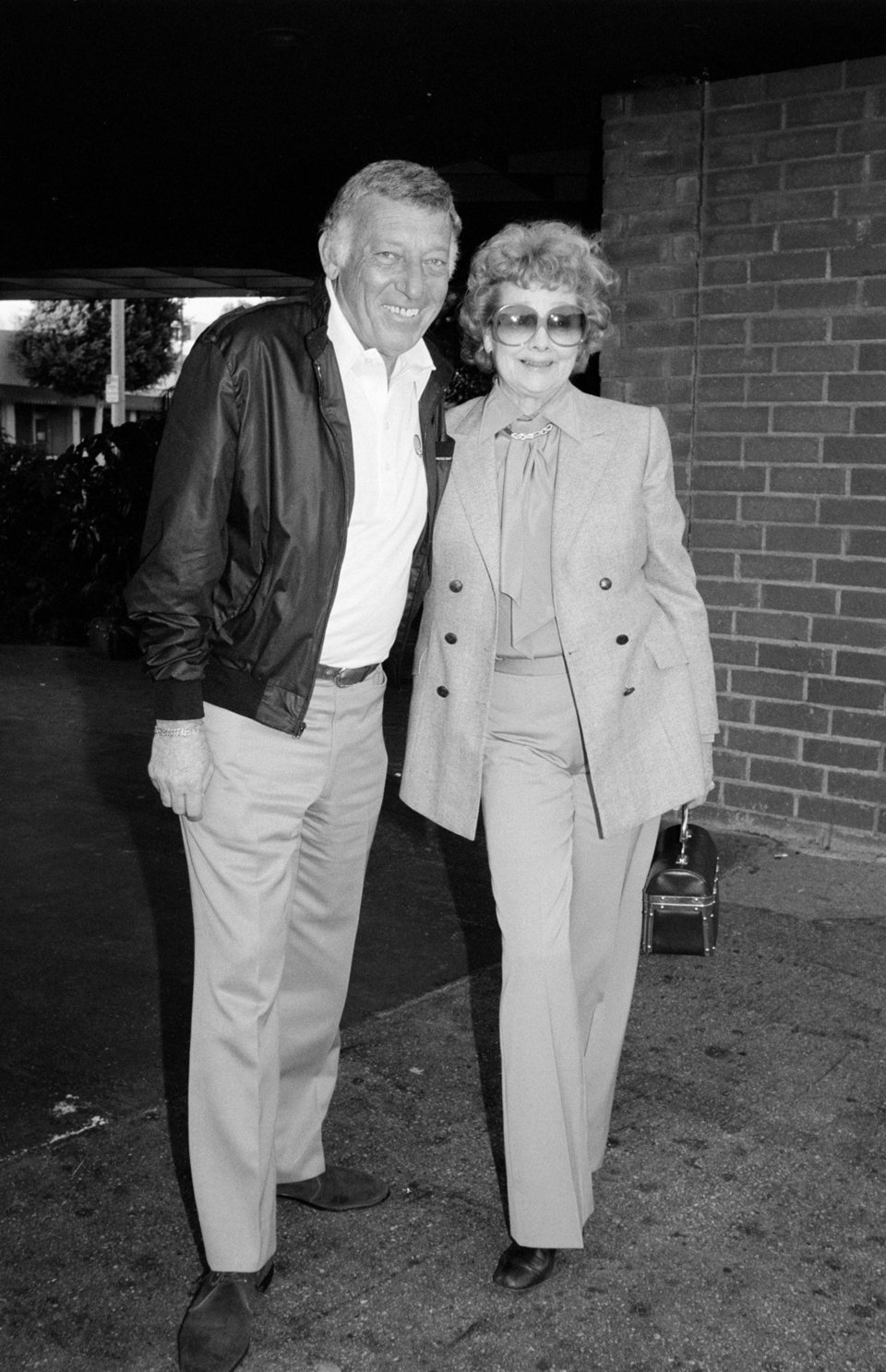 In 1982 with her second husband. Photo: Getty Images