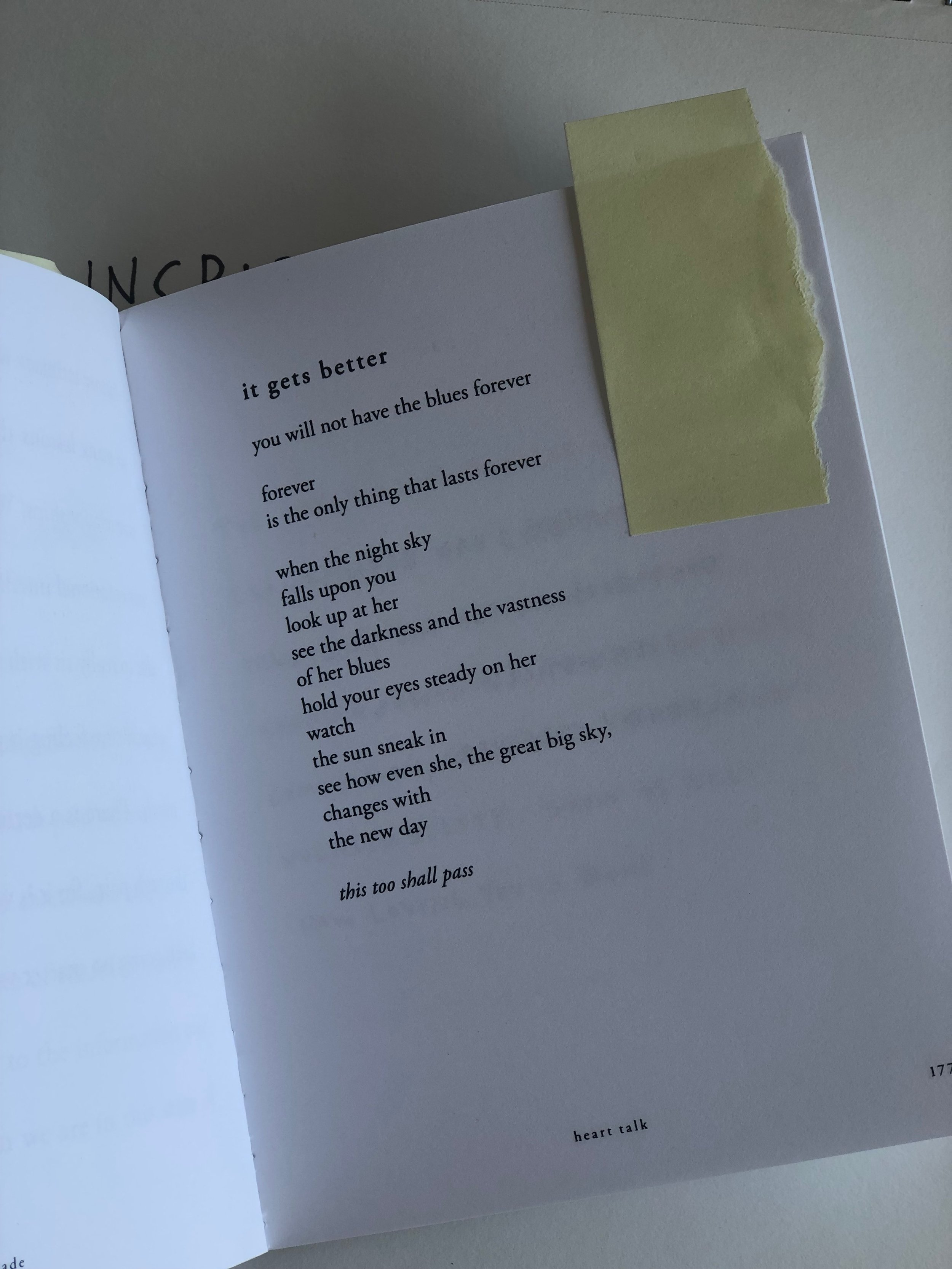 Cleo's poem that inspired the rocket T.
