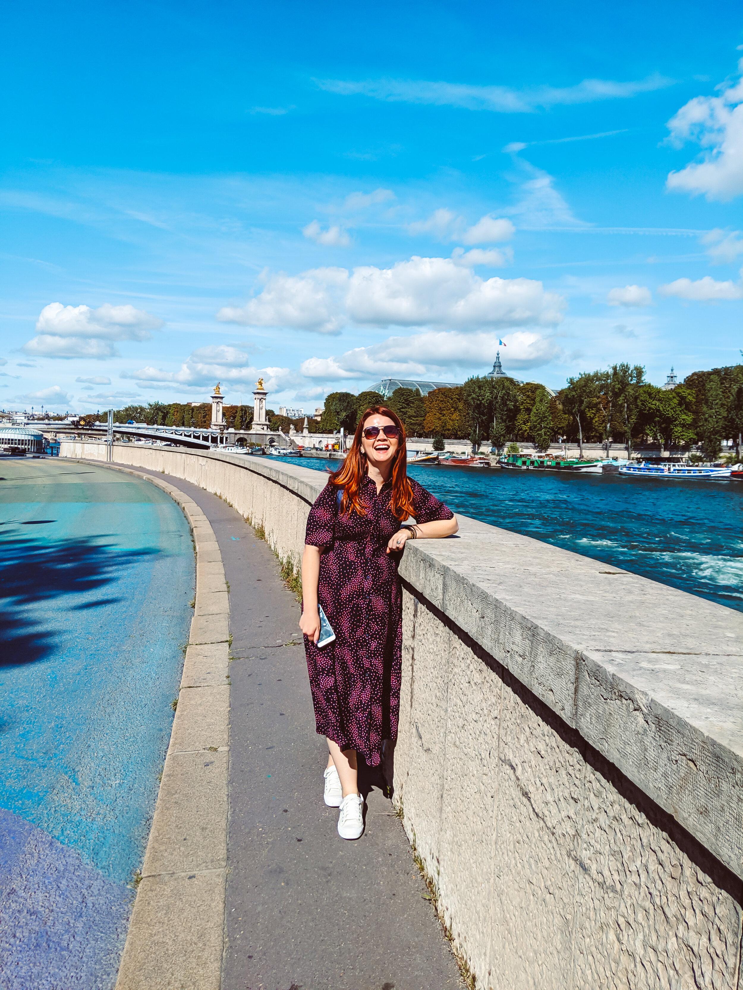 Walking the Seine to the Eiffel Tower!