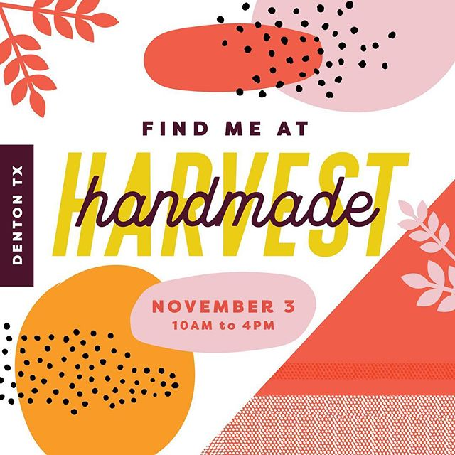 I've been busy in the freelance world, but I WILL be at @dimehandmadeharvest this Saturday! With two (maybe three) new cards in tow! Come visit me for a high five and be my friend! 🙌🏻✨
