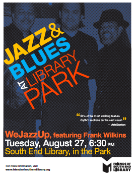 WeJazzUp with Frank Wilkins
