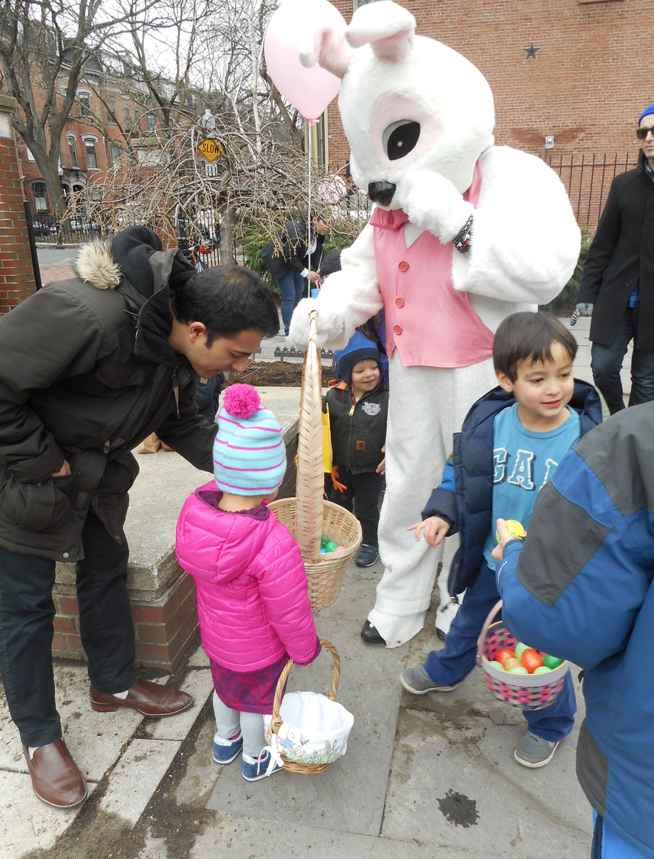 the Easter Bunny has extra eggs for late-comers