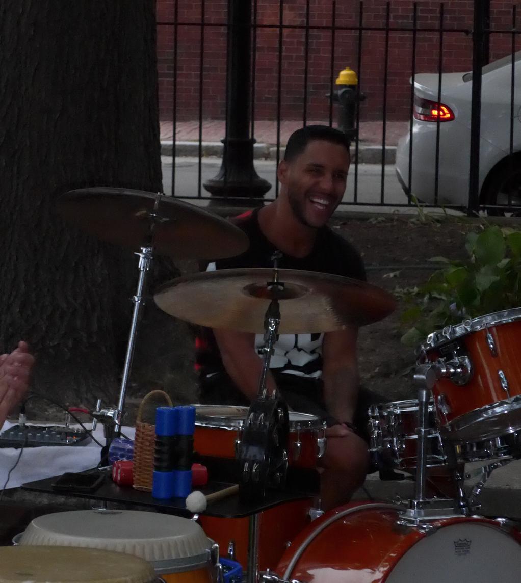 Drummer  Joaquin Santos