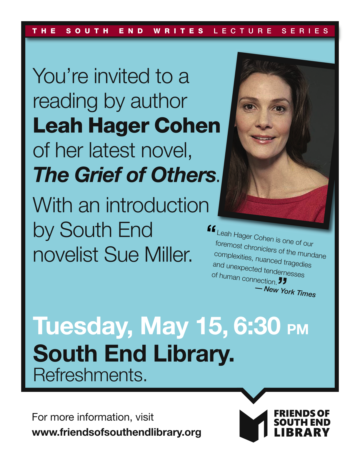FOSEL _Leah Hager Cohen flyer_5-15-12.png