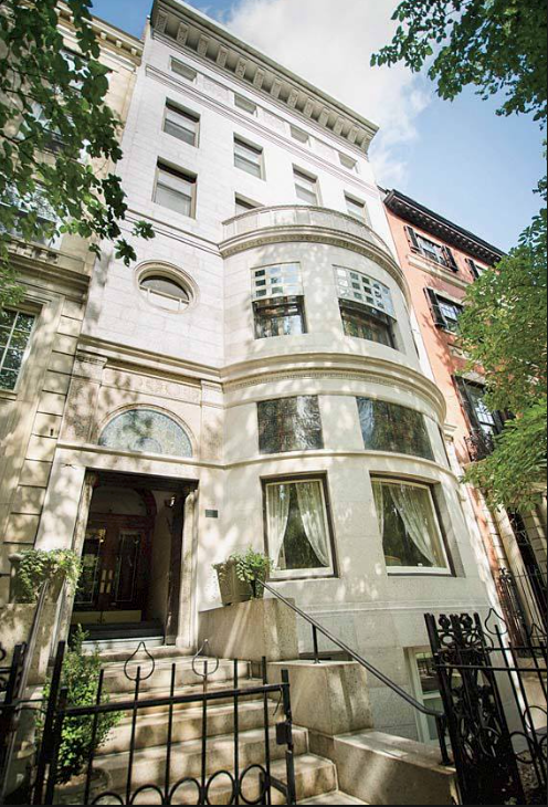 The Ayer Mansion at 395 Commonwealth Avenue, the last surviving mansion designed by Louis Comfort Tiffany