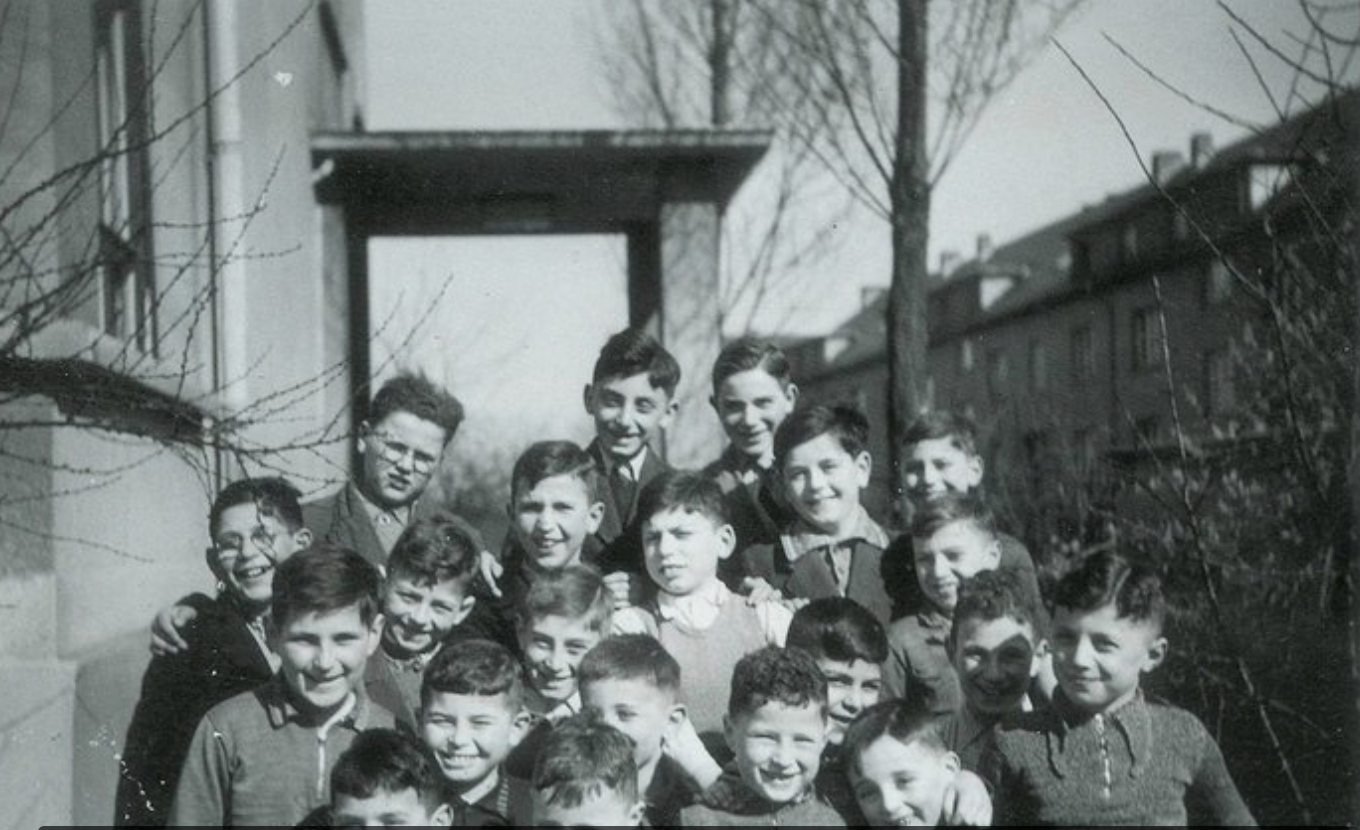 Harry Weichsel was the sole survivor of these boys in a Frankfurt orphanage in 1940