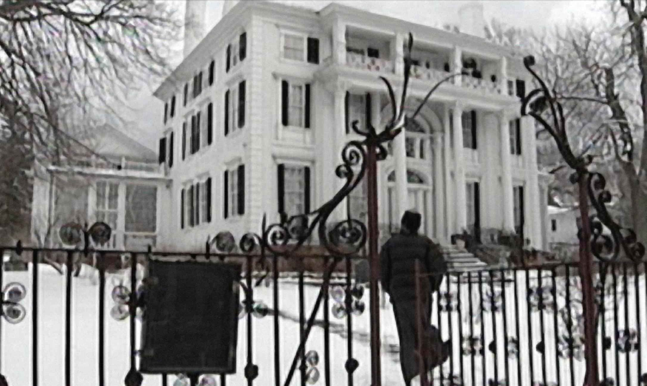 The DeWolfe family's 1810 mansion in Bristol, RI