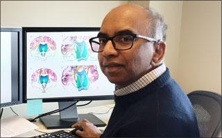 Photo: Tilak Ratnanather    Courtesy Johns Hopkins School of Medicine