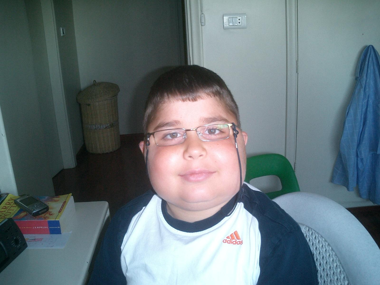 Age 11 after taking medicine