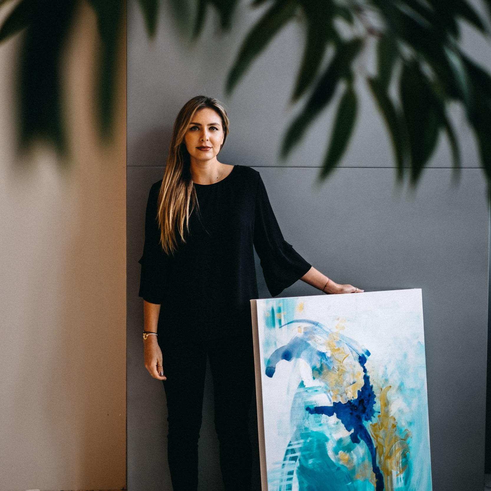 """Balance disorders are not easily understood. Even though those who have them may look fine on the outside, we are actually dealing with terrible symptoms that are extremely debilitating, not only physically, but mentally,"" says artist Nicolle Cure following a challenging, year-long medical journey."