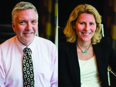 Peter Barr Gillespie, Ph.D., and Tatjana Piotrowski, Ph.D., of Hearing Health Foundation's Hearing Restoration Project