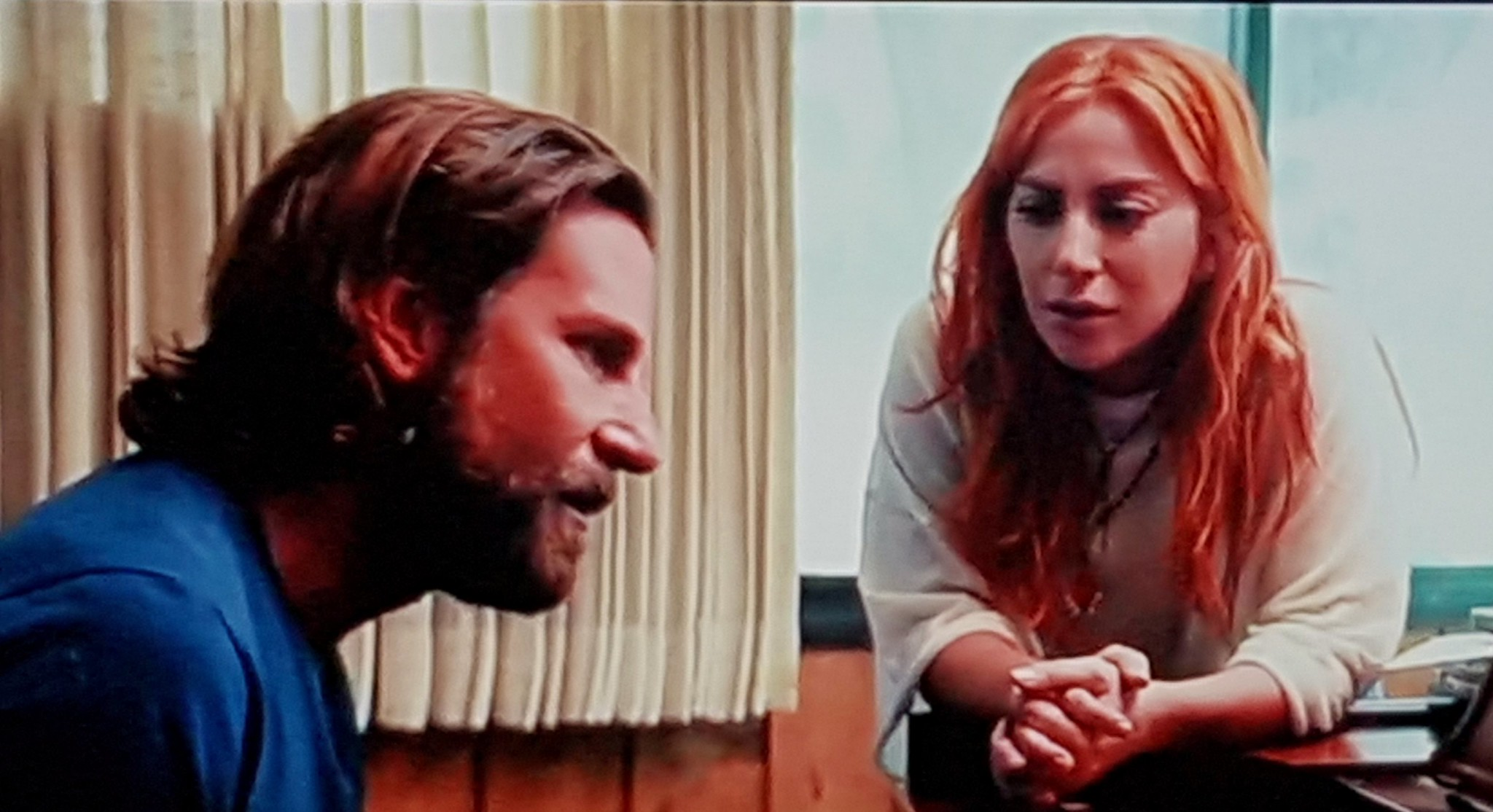"""Bradley Cooper and Lady Gaga in """"A Star is Born."""" Credit:    Peter Lowe   , Flickr."""