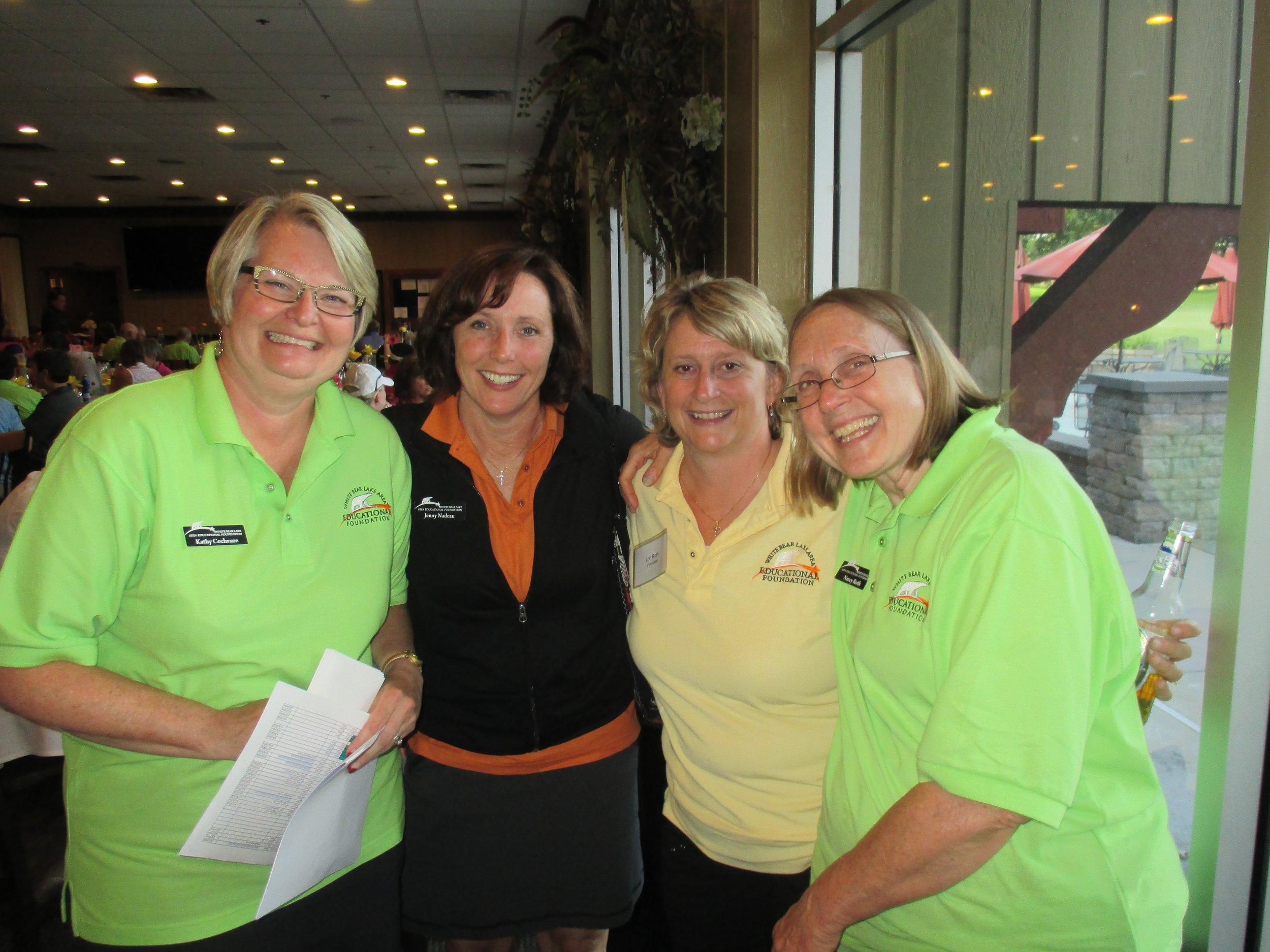 Kathy Cochrane (co-chair), Jenny Nadeau, Lori Roth, Nancy Roth (co-chair).jpg