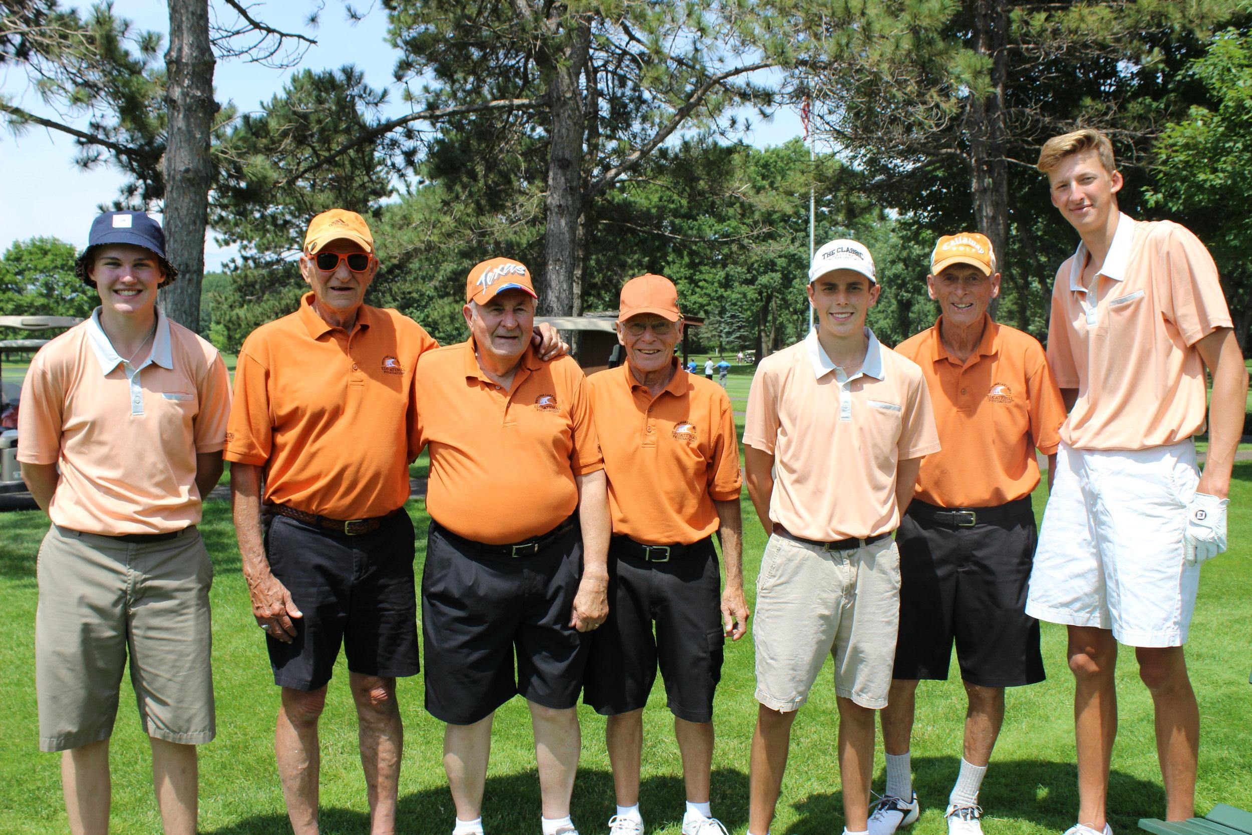 Student Aaren Schmid, Jim Galvin, Myron Rogers, Dick Mackey, Student Jake Paulson, Ron Nelson, Student Gabe Rensenbrink(1).jpg