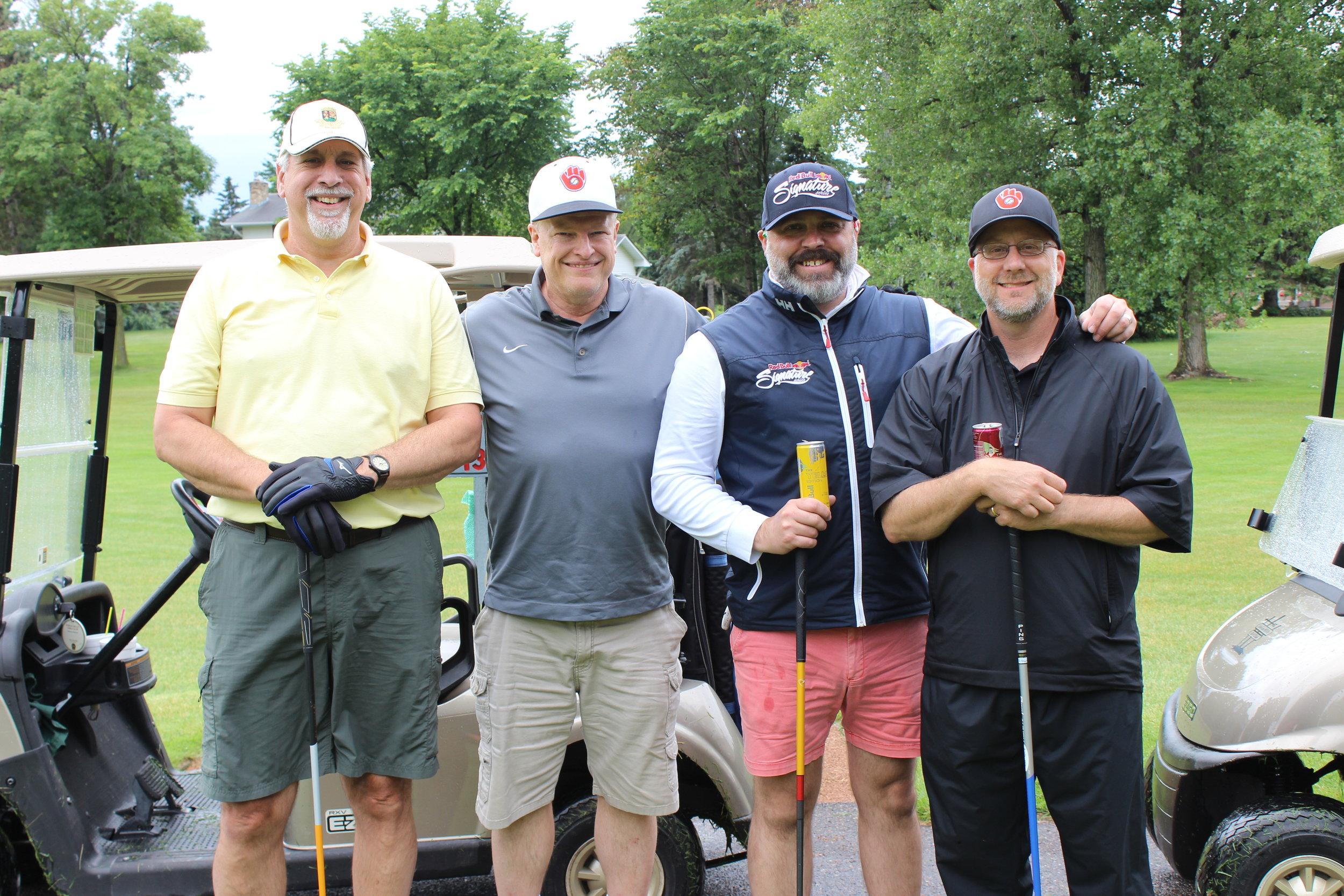 3B Robert Ohs, Dan Maleitzke, Nathan Morett, Tim Beloyed.JPG