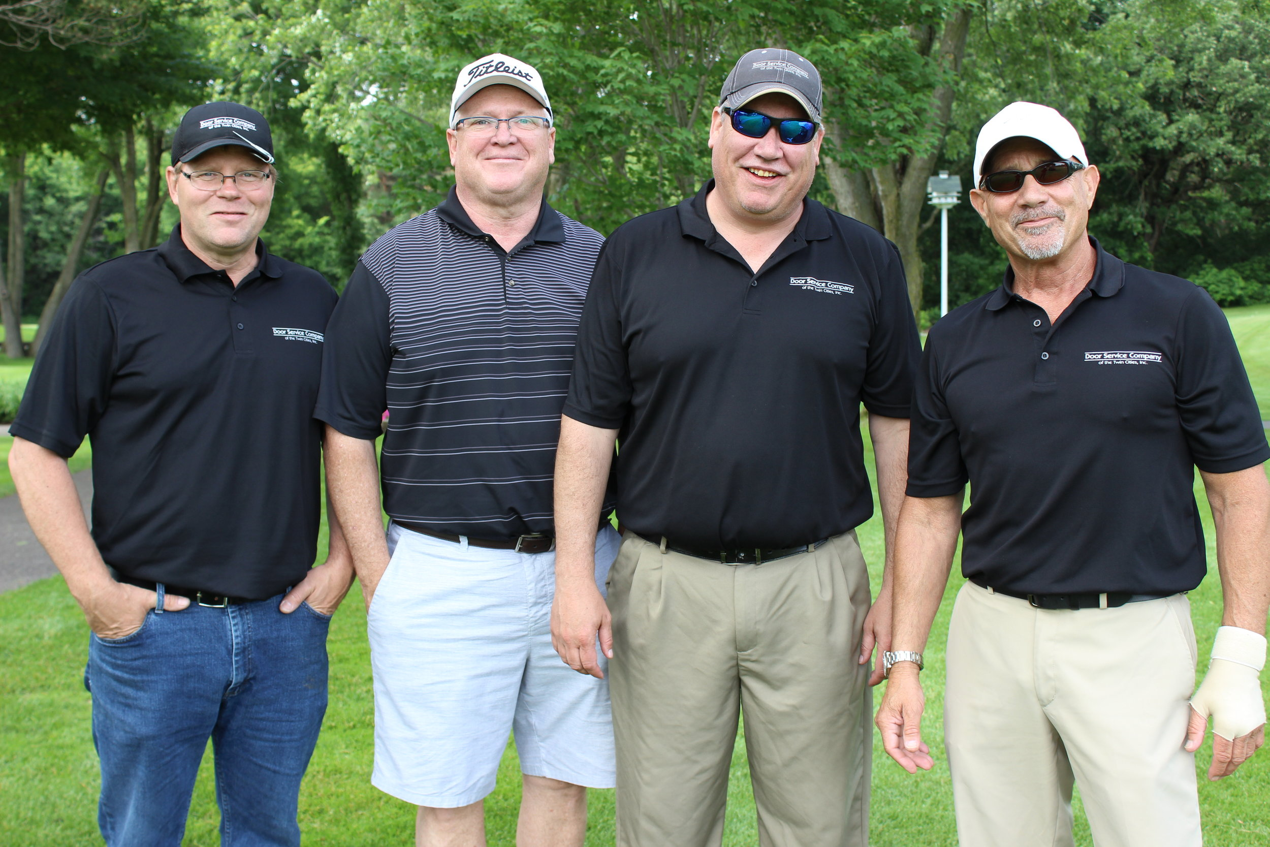 10B Door Service Company - Paul Hattenberger, JIm Svoboda, Craig Lupien, Dave Baker.JPG