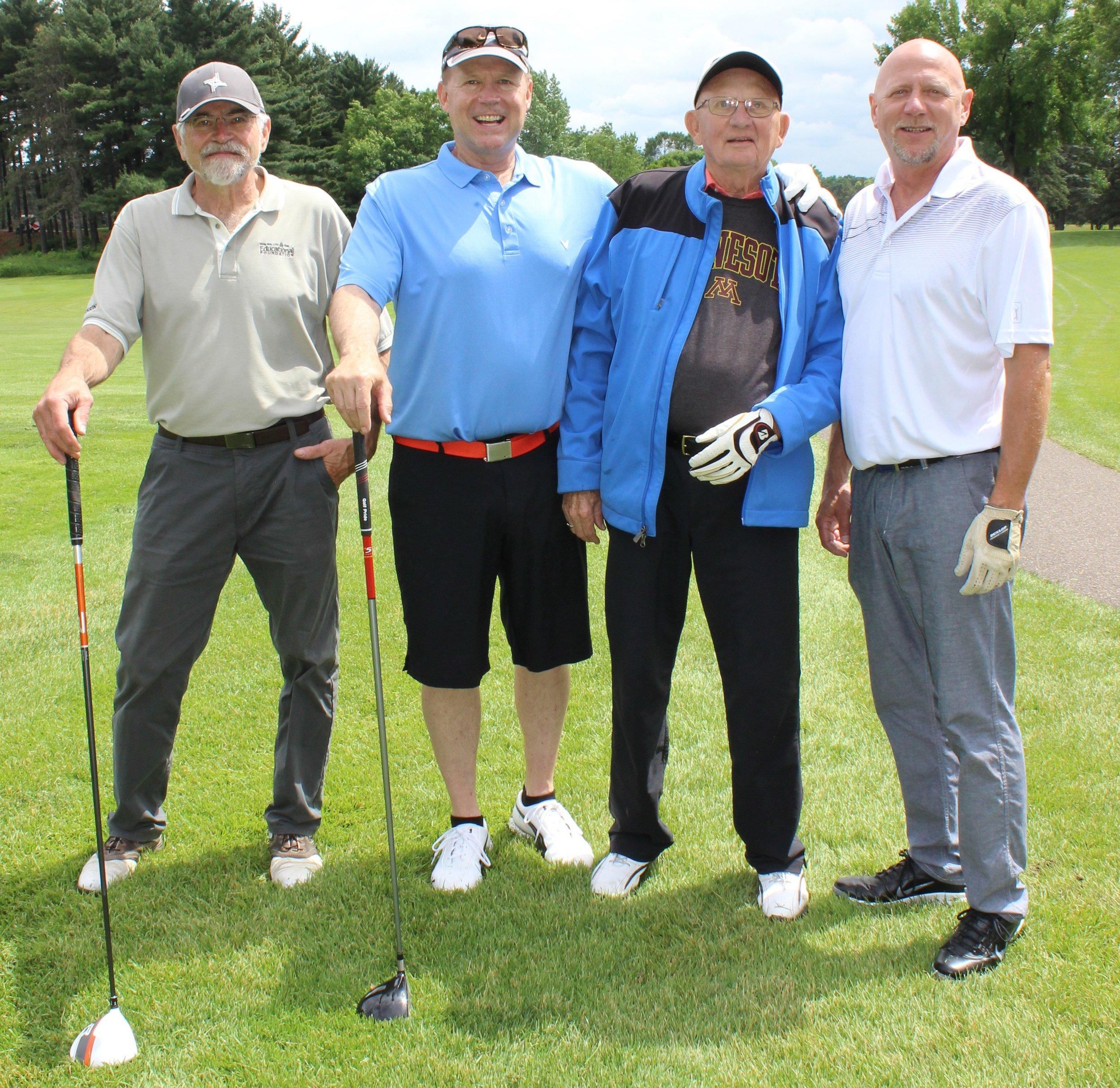 17B Jack Michaud, Mike McBroom, Norm Falk, Neal Snesrud.jpg
