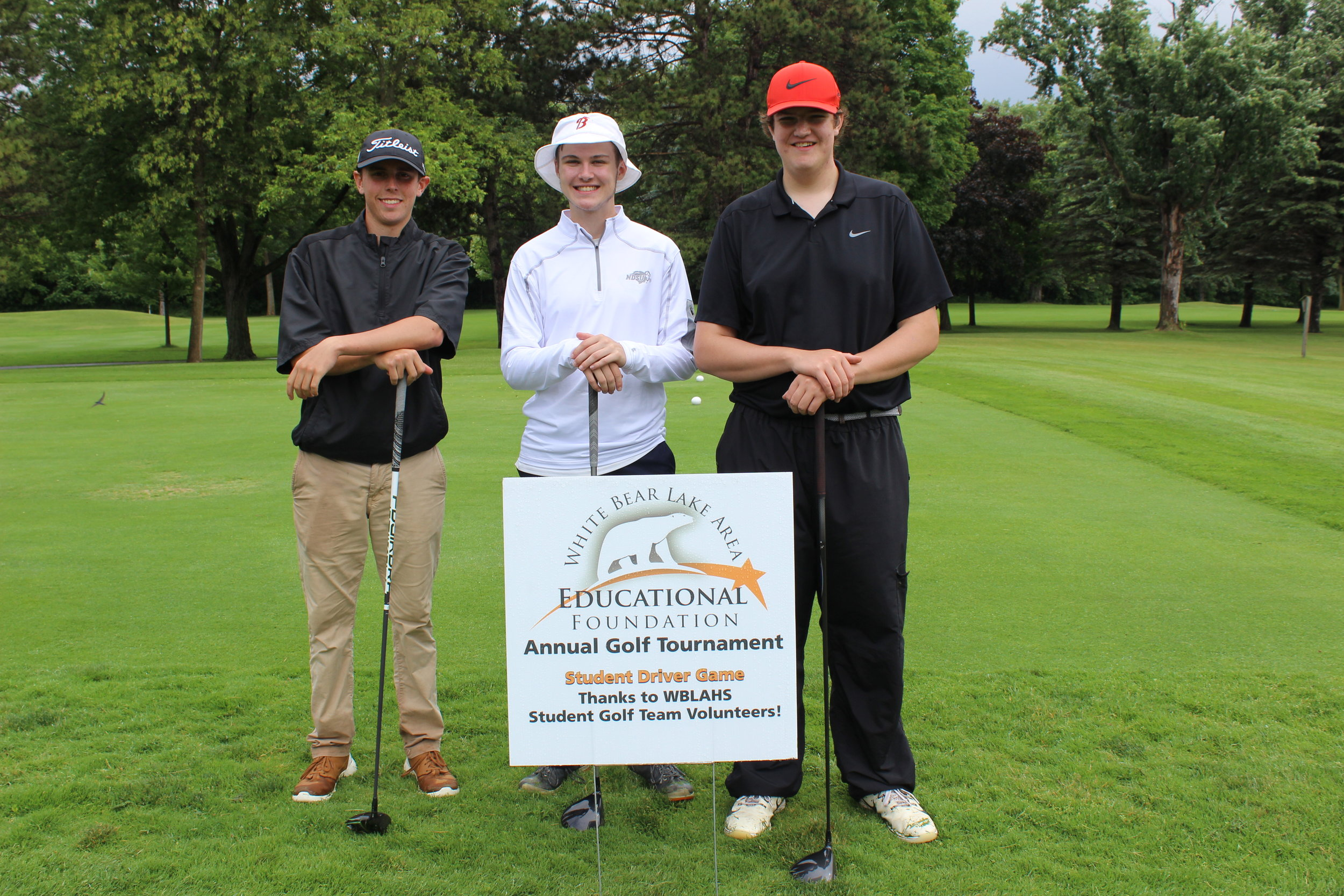 WBLAHS Boys Golf Team members - Jake Paulson, Aaren Schmid, Mark Vowels.JPG