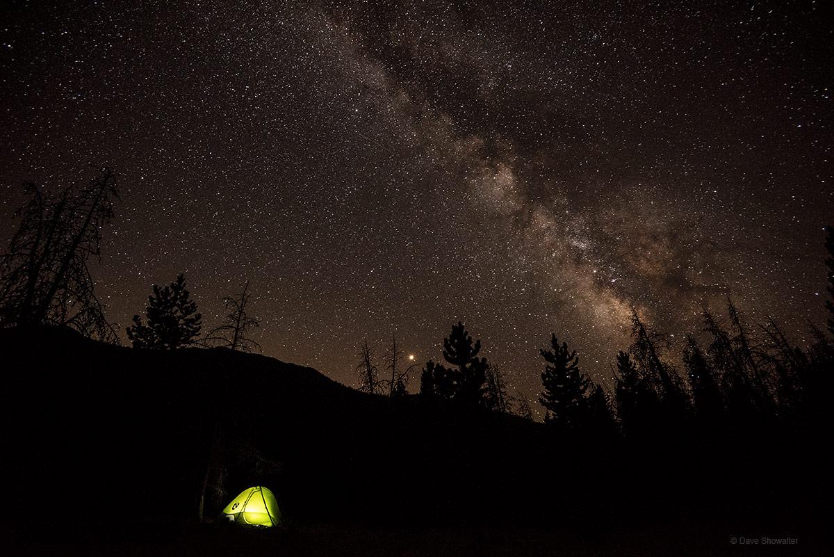 La Poudre Pass Nightfall