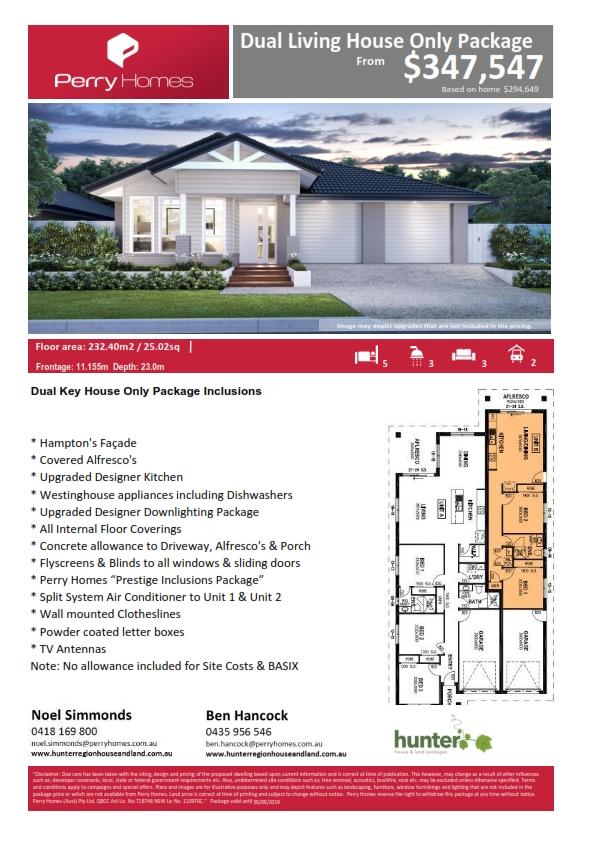 Dual Key House package - Hamptons facade_001.jpg