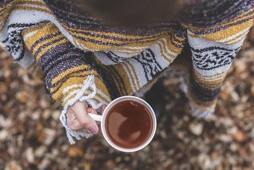 Blueberry Tea w/ Honey & Lemon