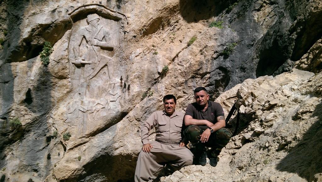 Razgar and Rawa at Derband-i Gawir (Peter Wien, 2016)