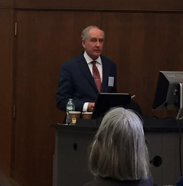 Keynote address by Dr. Eric Davis (Photo Credit: Alda Benjamen, 2015)