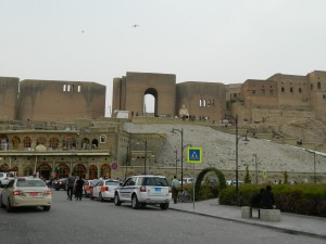 View of the historic Citadel of Erbil (Photo credit: Beth Kangas, 2013)