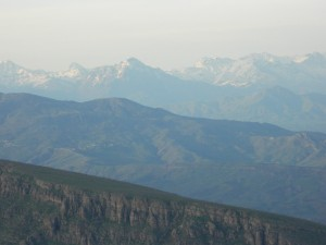 A view of the mountains surrounding the Shingilbana area in northern Iraq (Photo credit: Beth Kangas, 2013)