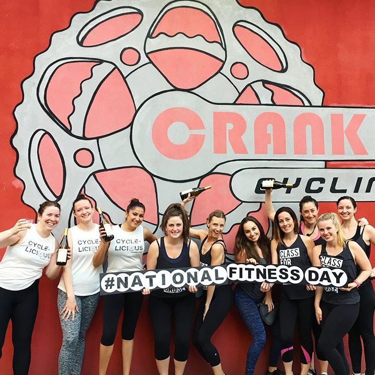 Crank Spin New York Celebrates National Fitness Day