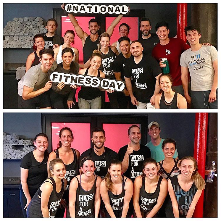 Barry's Bootcamp for National Fitness Day